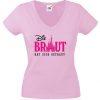 JGA Shirt Schloss Braut