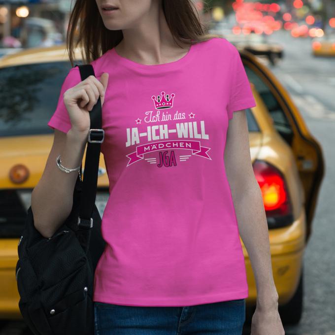 JGA Shirts JGA Shirt - Ja ich will