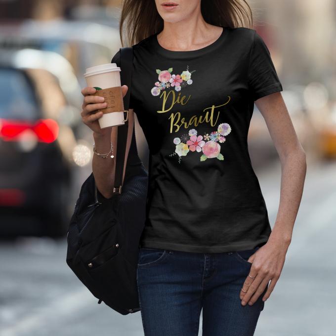 D61_Junggesellinnenabschieds-jga-shirt_Die-Braut_Blumen_hi