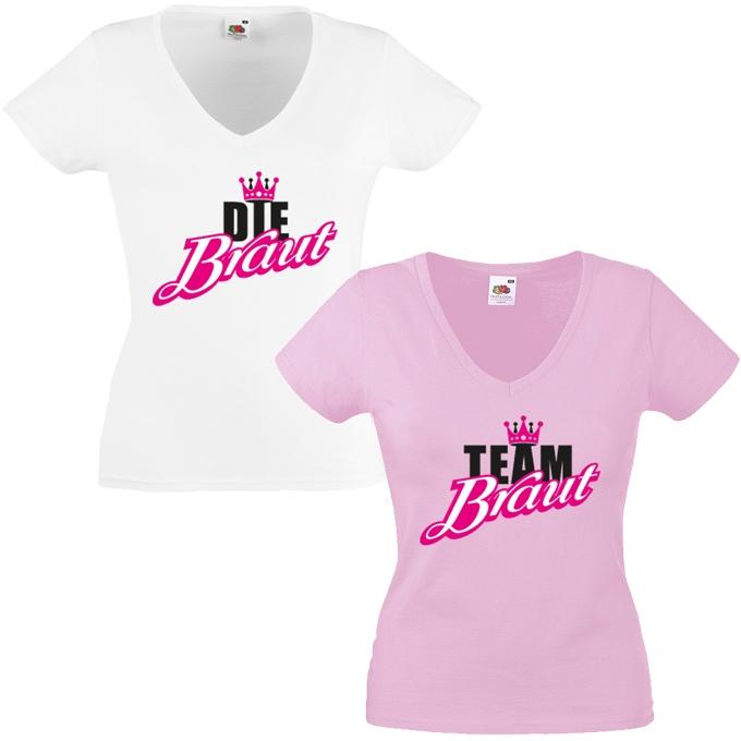JGA Shirts JGA Shirt - Braut Krone