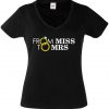 JGA Shirt - From Miss to Mrs.