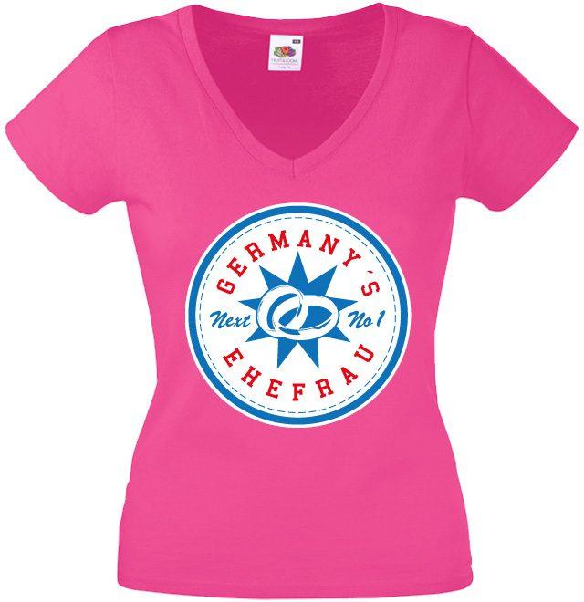 JGA Shirts JGA Shirt - Germany's Next No.1 Ehefrau