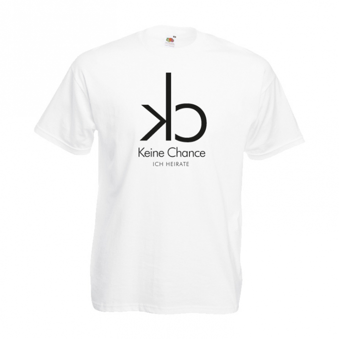 Junggesellenabschied Shirt CK Keine Chance