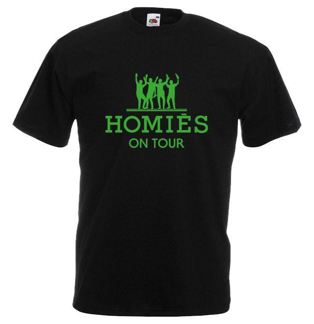 JGA Shirts JGA Shirt - HOMIES on Tour
