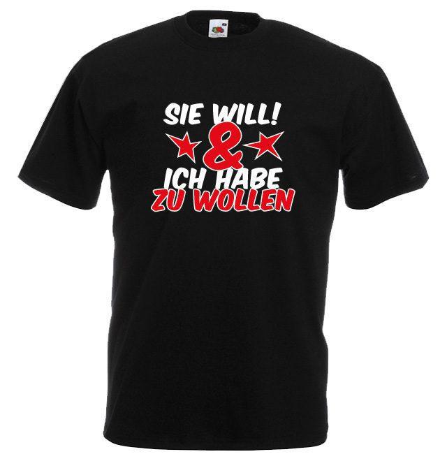 JGA Shirt - Sie will