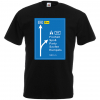 JGA Shirt - Autobahnschild