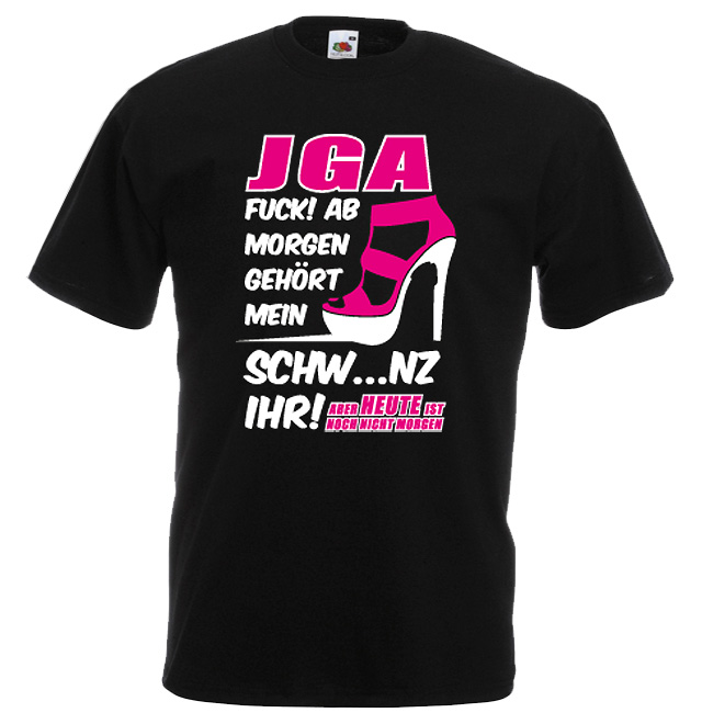JGA Shirt - Schwanz