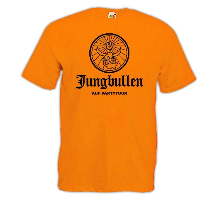 JGA Shirt Jungbulle orange