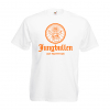 JGA Shirts Jungbulle weiß orange