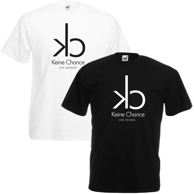 Junggesellenabschied Shirt CK