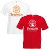 JGA Shirts Jungbulle weiß rot