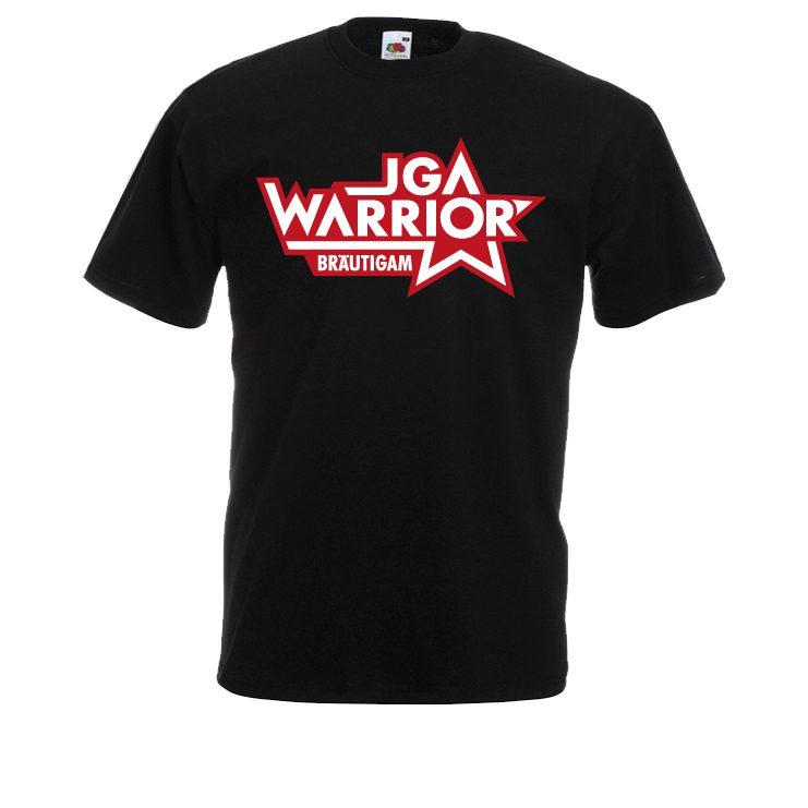 JGA Worrior Bräutigam Junggesellenabschied Shirt