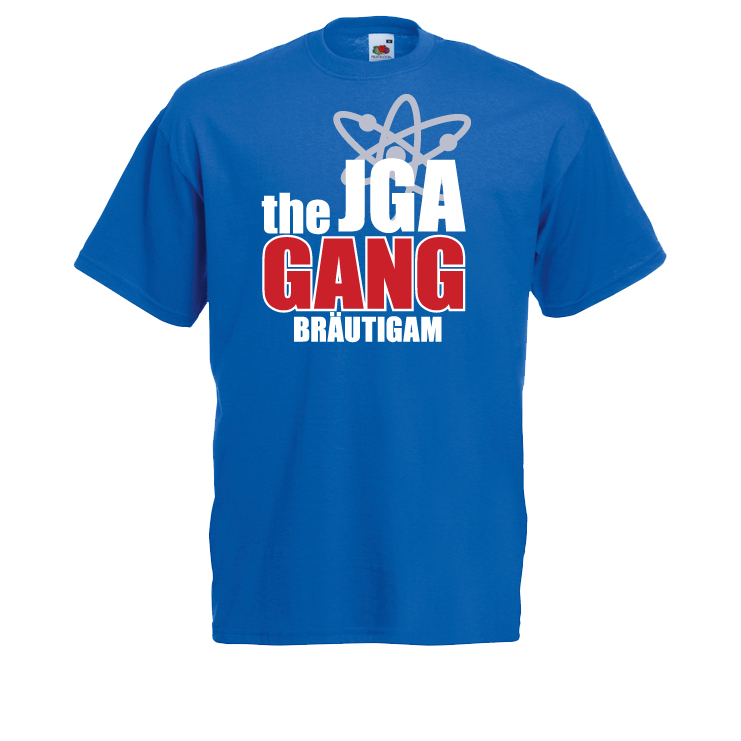 JGA Gang Junggesellenabschied Shirt Bräutigam