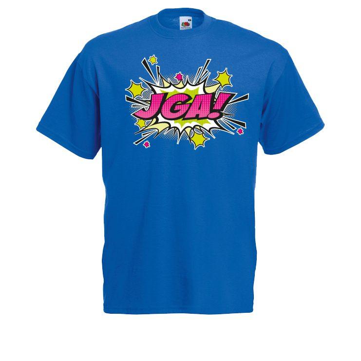 JGA Shirt - JGA Comic Blast