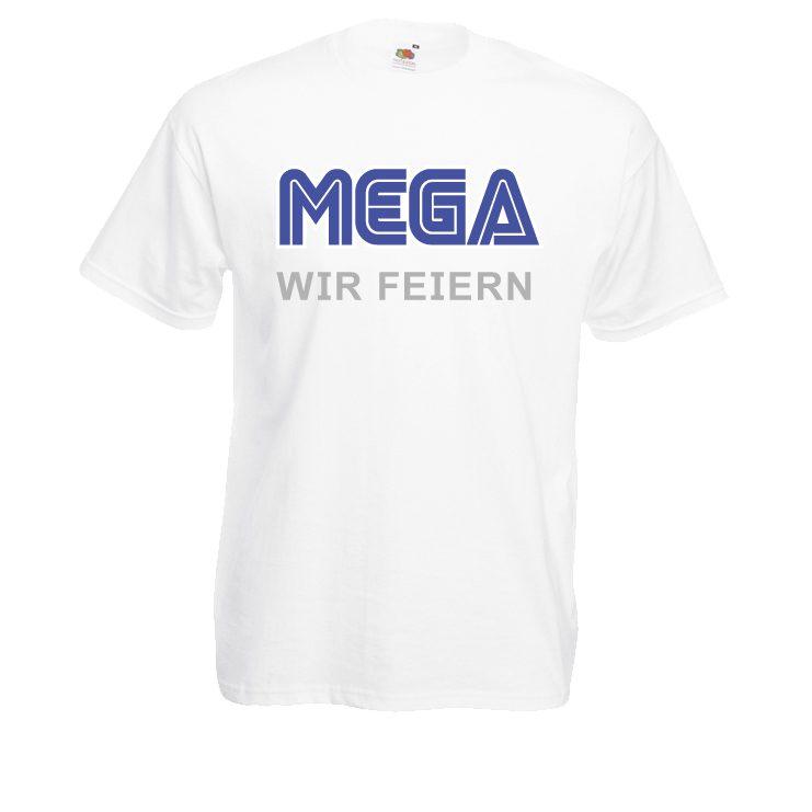 JGA Shirt - MEGA Ich heirate