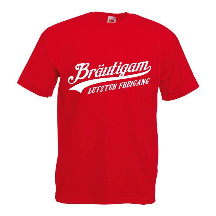 Bräutigam letzter Freigang Junggesellenabschied Shirt