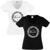 JGA Shirt - Braut Kranz