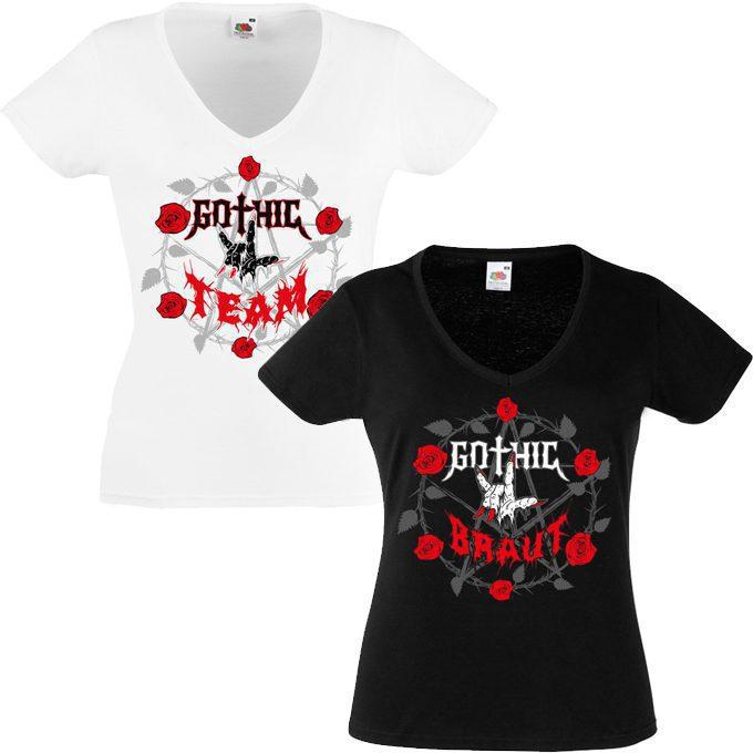 Junggesellinnenabschied shirts Gothic