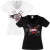 Junggesellinnenabschied shirts Comic Herz