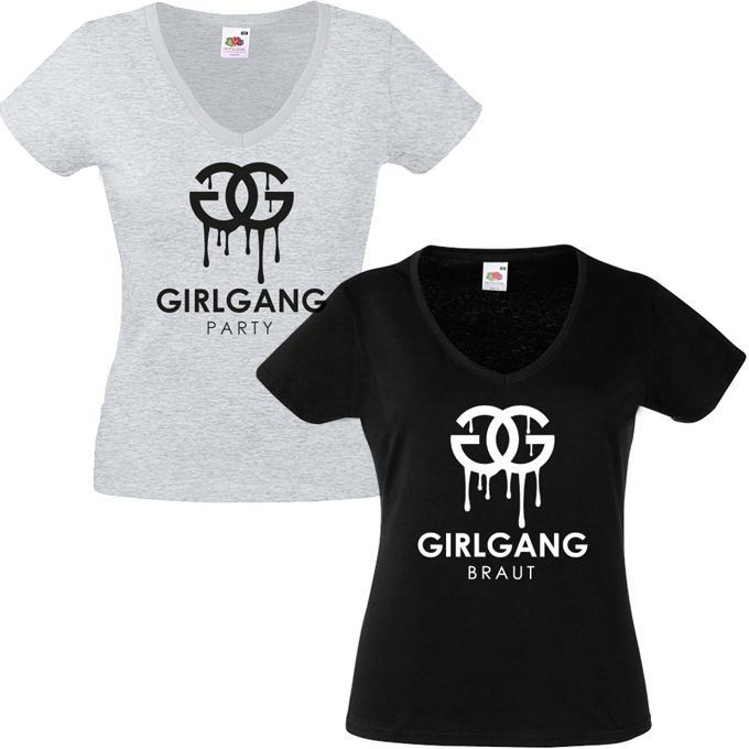 Junggesellinnenabschied shirts GG