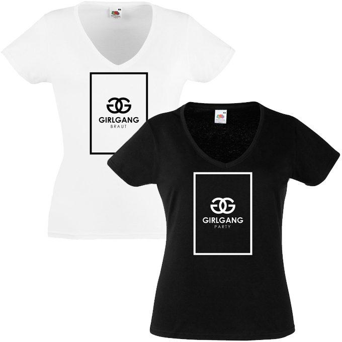 Junggesellinnenabschied shirts GG 2