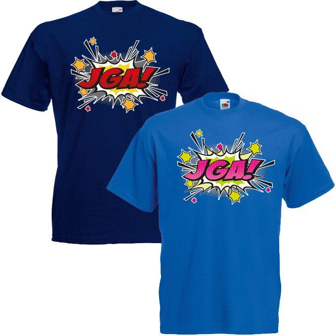 JGA Shirts JGA Shirt - JGA Comic Blast