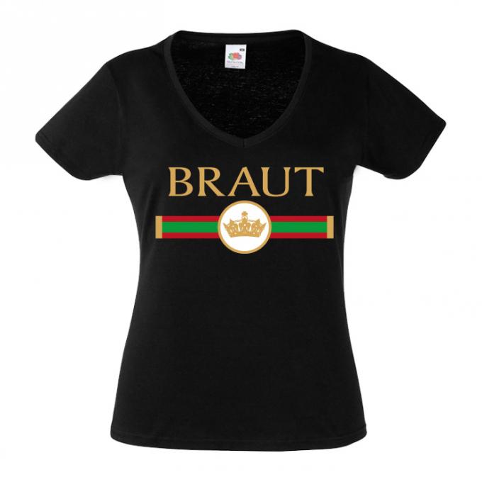 Junggesellinnenabschied shirt GG Braut