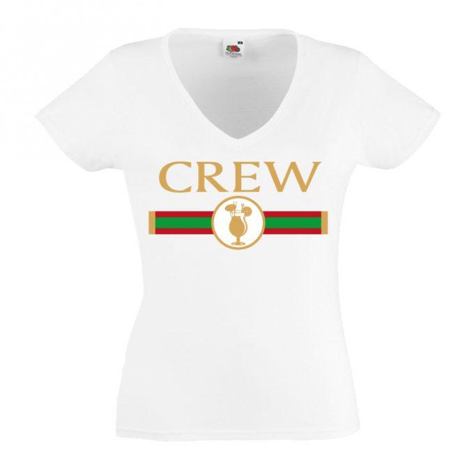 Junggesellinnenabschied shirt GG Crew