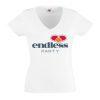 Junggesellinnenabschied shirt Endless love weiß