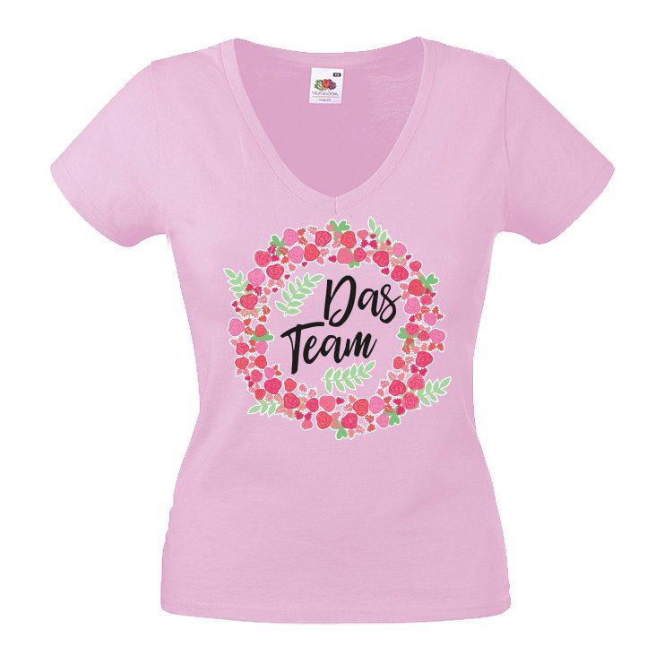 JGA shirt Flowers das team