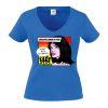 Junggesellinnenabschied shirt blau sorry ich heirate