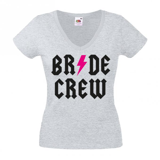 Junggesellinnenabschied shirts Blitz crew