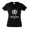 Junggesellinnenabschied shirt Girlgang schwarz