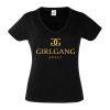 Junggesellinnenabschied shirts Girlgang schwarz