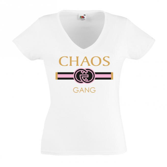 Junggesellinnenabschied shirt GG Chaos