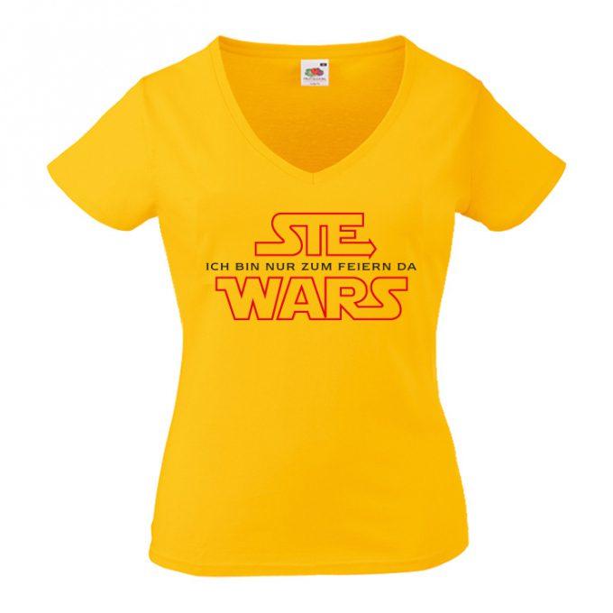 JGA Shirts JGA Shirt - Ich Wars - Sie Wars
