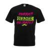 JGA Shirt Hurra Name Heiratet