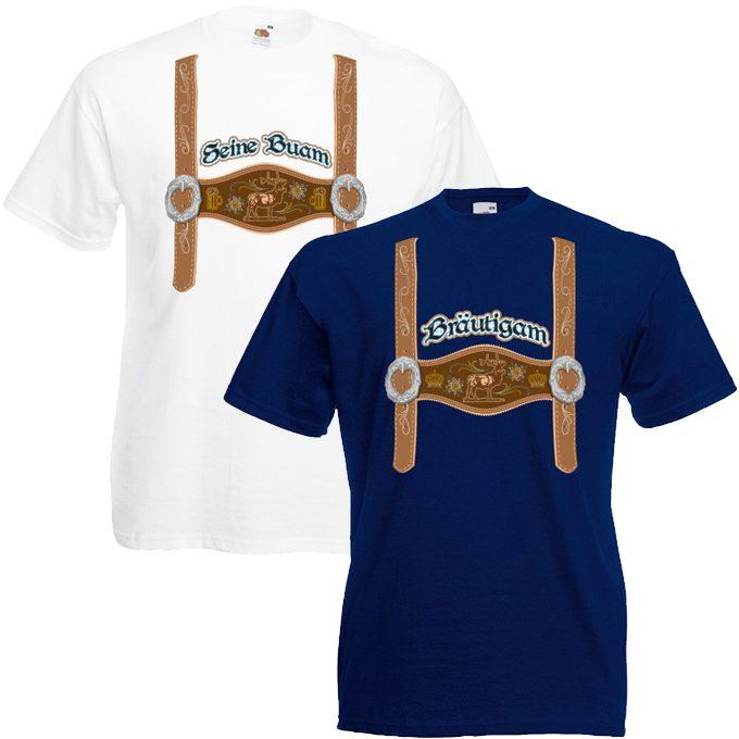JGA Shirt Lederhose