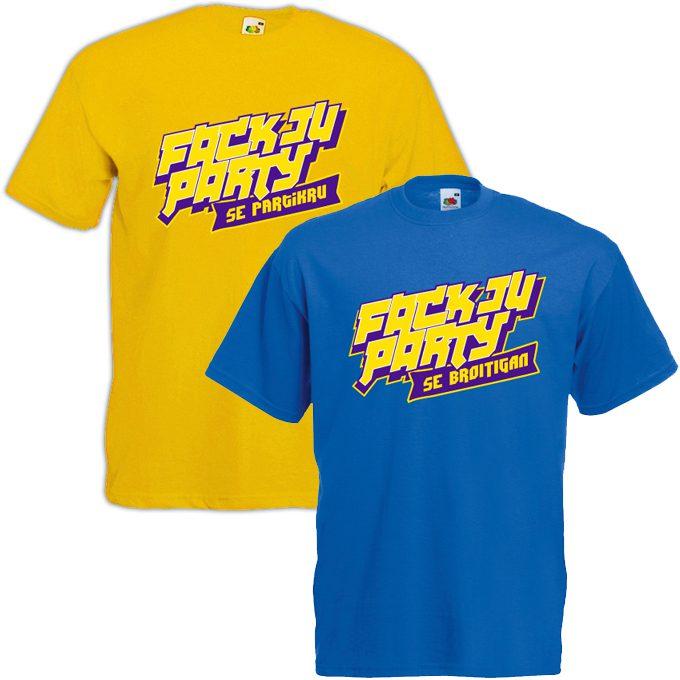 JGA Shirts JGA Shirt - Fack Ju Party
