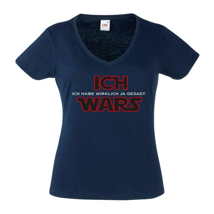 JGA Shirt - Ich Wars - Sie Wars