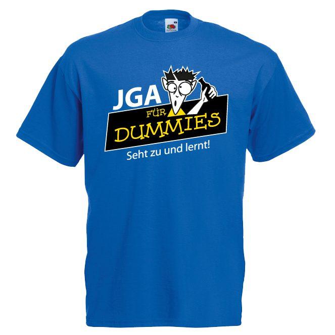 JGA Shirts JGA Shirt - JGA für Dummies